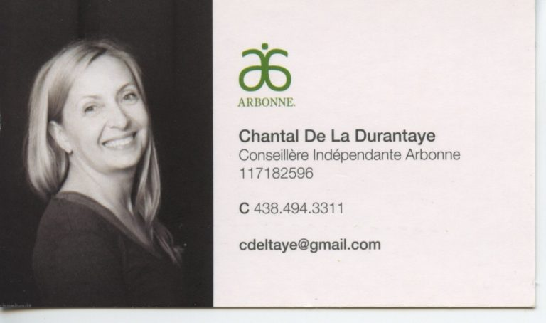 Chantal DeLaDurantaye commendite